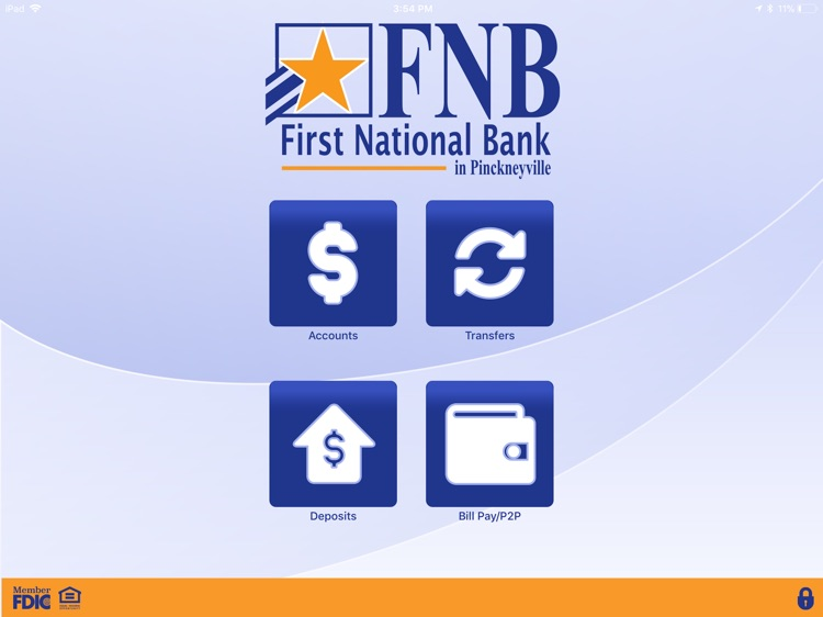 FNB Pville Mobile for iPad