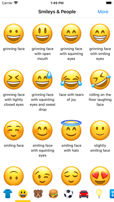 Emoji Meaning Dictionary List