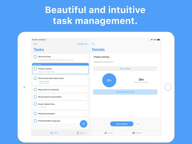 Focus - Time Manager Screenshot