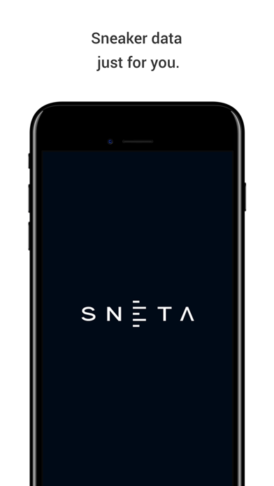 SNETA - SNEAKERS DATA Screenshot