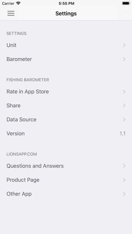 Fishing Barometer screenshot-5
