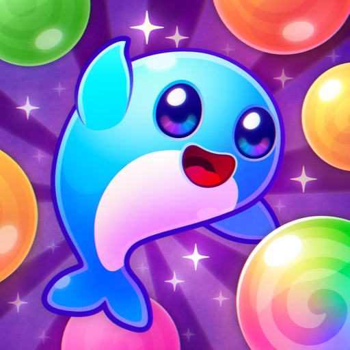 Space Whale Bubble Shooter
