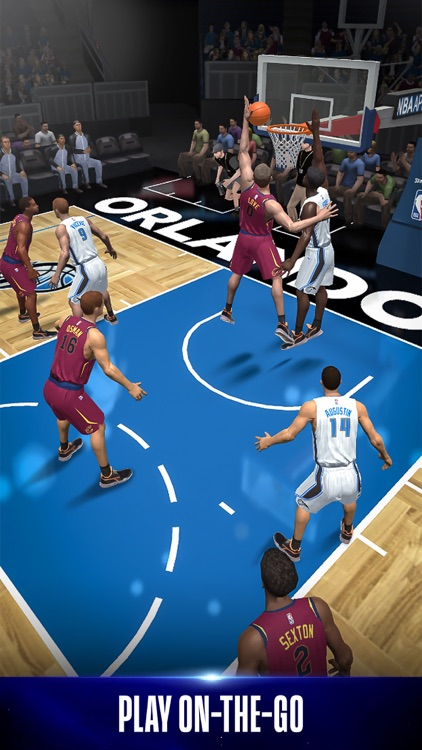 NBA NOW Mobile Basketball Game screenshot-1