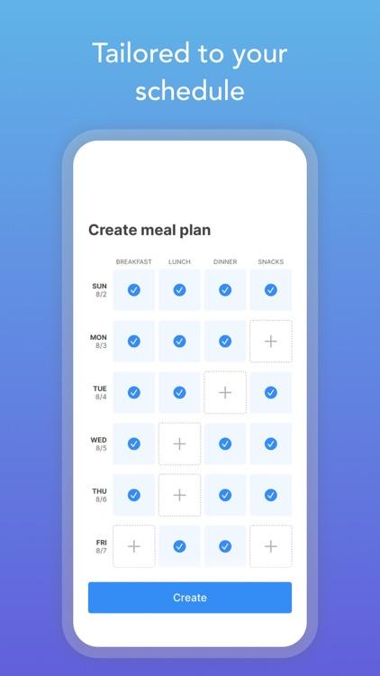 Intent - Healthy Meal Plan screenshot-4