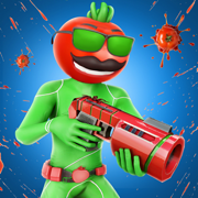 Tomato Splash Shooting Games