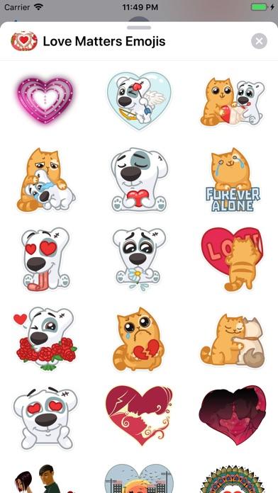 Love Matters - Emoji Stickers app image