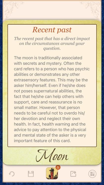 Tarot Universe - Card Reading screenshot-3