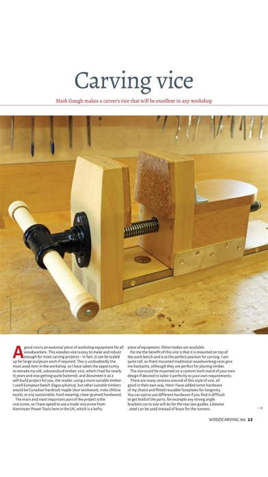Screenshot for Woodcarving Magazine in United States App Store