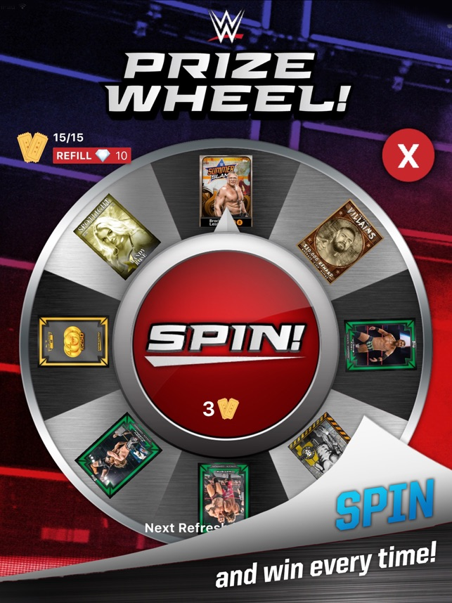 WWE SLAM: Card Trader on the App Store