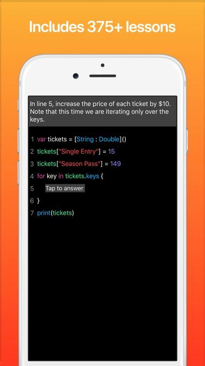 Code! Learn Swift Version screenshot-3
