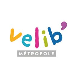 Ícone do app Vélib', app officielle