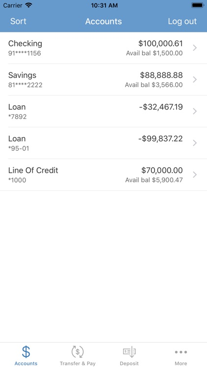 URB Mobile Banking screenshot-2