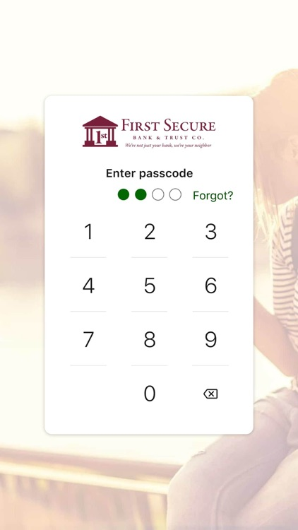 First Secure Mobile screenshot-3