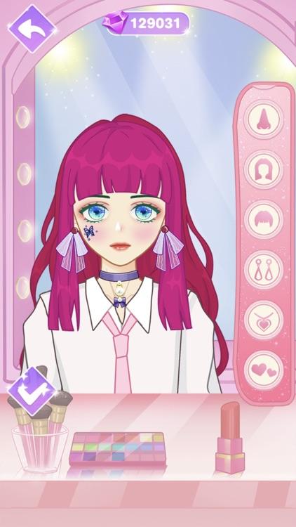 Star Girl Anime Dress Up screenshot-5