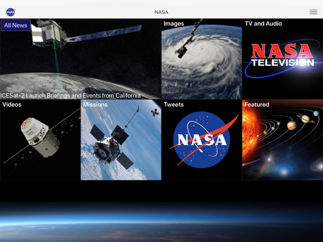 ‎NASA Screenshot