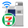Fuji Xerox Co., Ltd. - セブン−イレブン マルチコピー Wi-Fiアプリ アートワーク