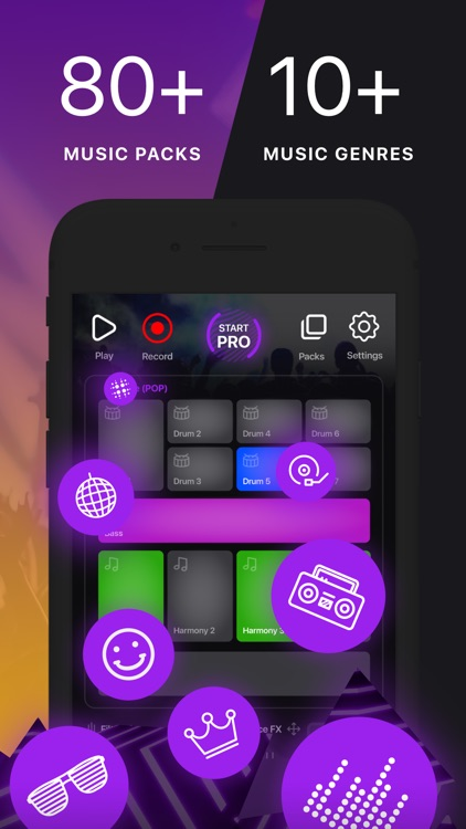 Music Maker App - MuzArt Beats screenshot-1