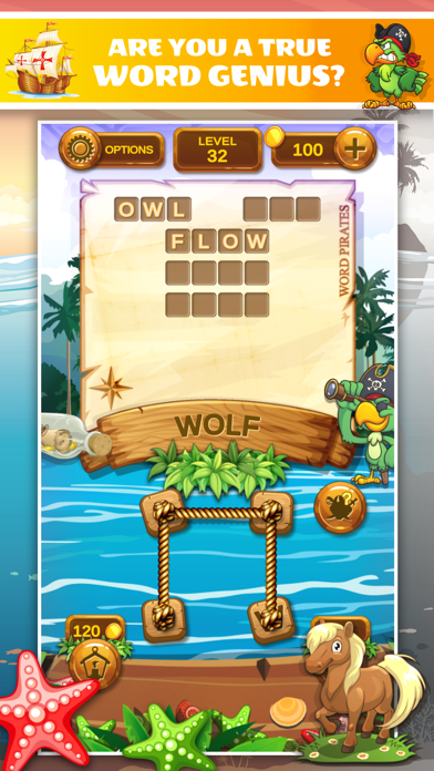 Word Pirates: Word Puzzle Game screenshot 5
