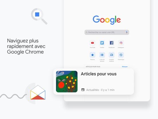 Google Chrome iPad