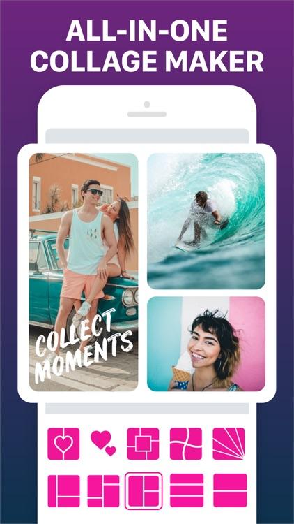 Photo Collage Maker & Pic Grid screenshot-0