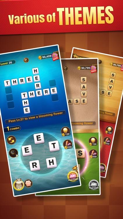 Word Holiday: Crossword&Design screenshot-4