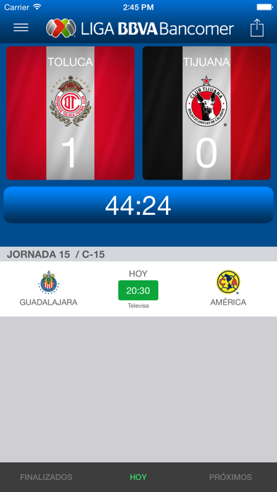 Liga BBVA MX App Oficial screenshot four