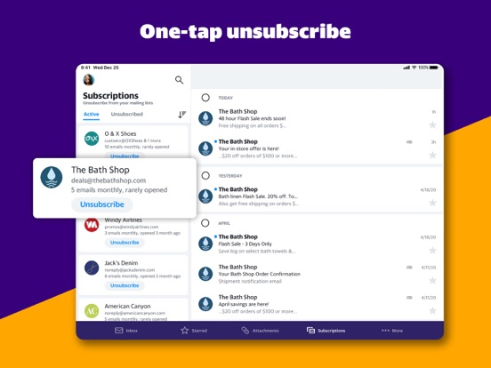 Yahoo Mail - Free Email, News, Weather and more screenshot