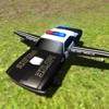 Flying Police Car Driving Sim