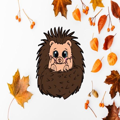 Mitzi Hedgehog Emoji's
