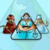 Triangular World: Made by Kid