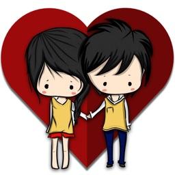 Girlfriend Boyfriend Stickers