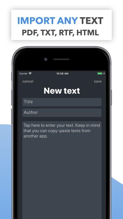 MemoCoach: learn text by heart screenshot-4