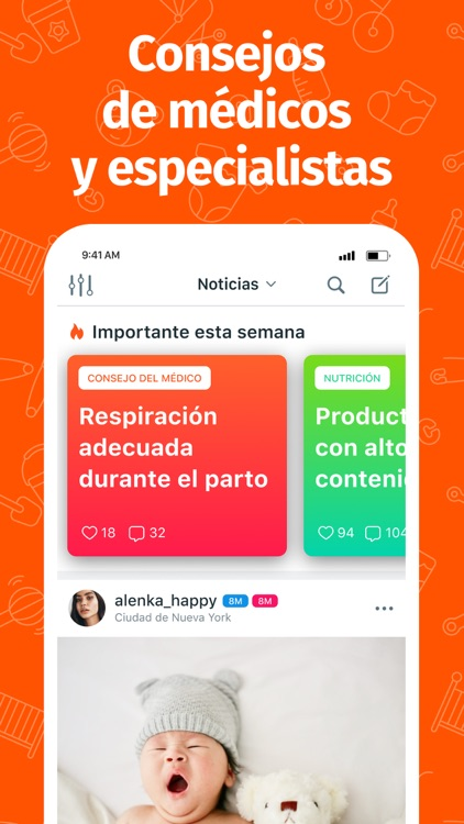 Mom.life — embarazo y bebé app screenshot-5