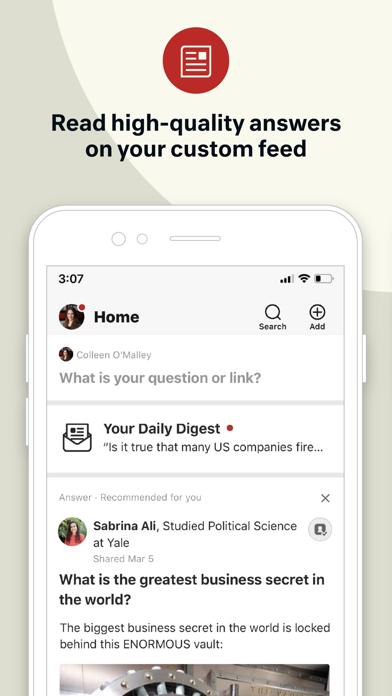 cancel Quora app subscription image 1