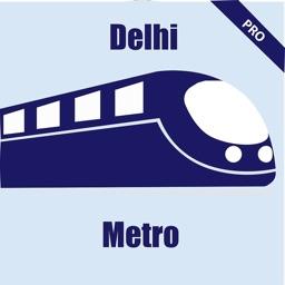 Delhi Metro Map and Routes Pro