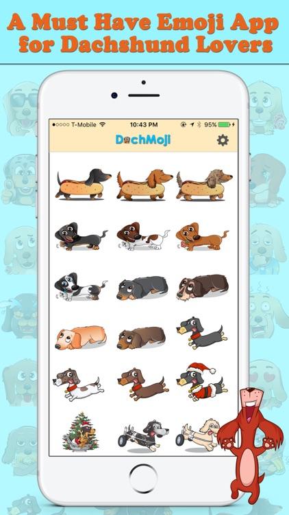 DachMoji: Dachshund Stickers screenshot-3