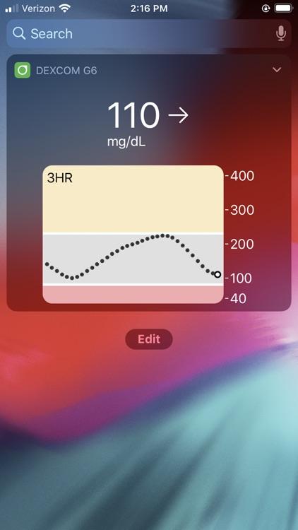 Dexcom G6 screenshot-3