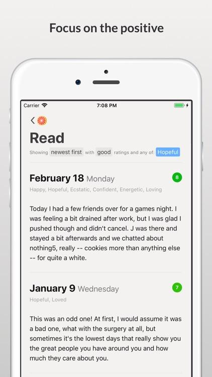 Grapefruit Journal screenshot-4