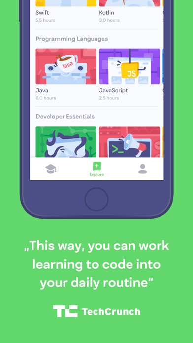 Mimo: Learn to Code app image
