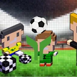 方块人足球