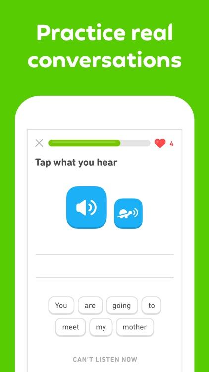 Duolingo - Language Lessons screenshot-4