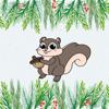 Mitzi Squirrel Emojis