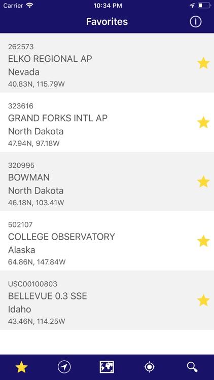 NOAA Snow Live Weather PRO screenshot-8