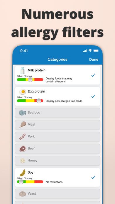 Food Intolerances review screenshots