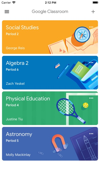 Screenshot for Google Classroom in New Zealand App Store