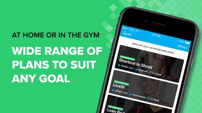 BodyFit Fitness Training Coach Screenshot