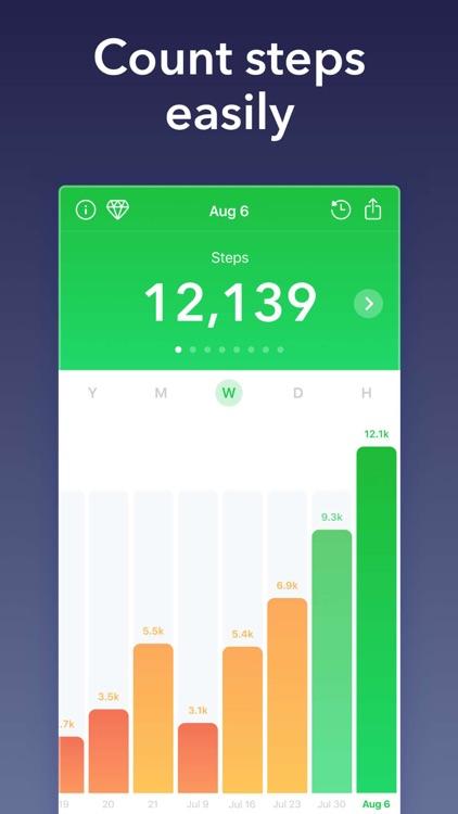 Stepz - Step Counter & Tracker screenshot-0