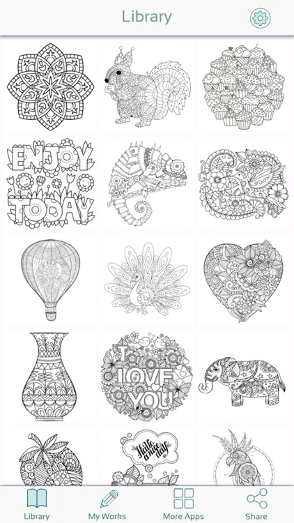 Color Therapy Coloring Pages screenshot-3