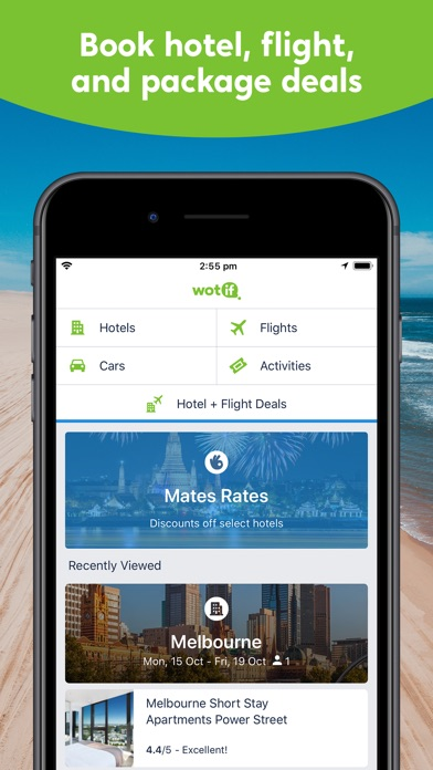 Download Wotif Hotel, Flight & Packages for Pc