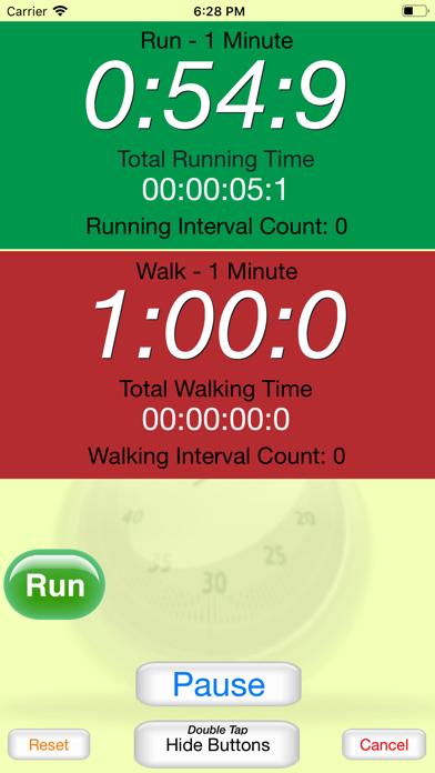 Running Interval Timer review screenshots